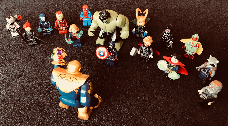 Featured image: , Avengers assemble (mostly) in Lego