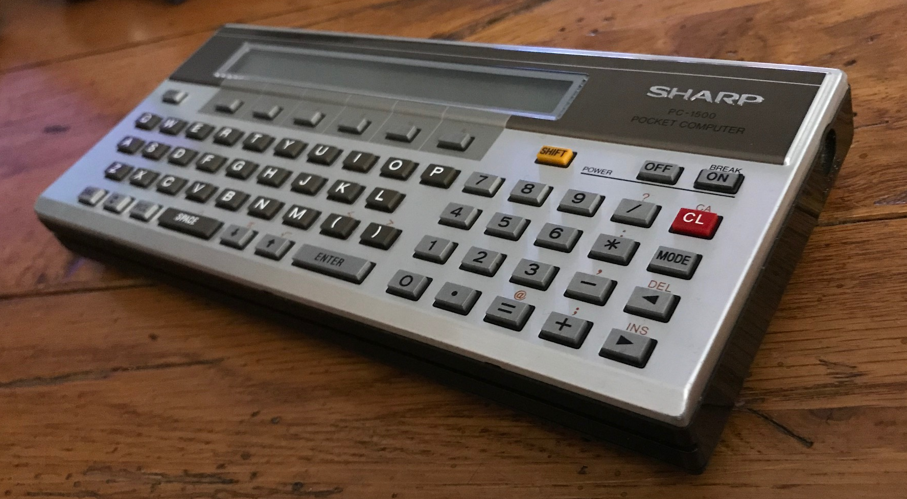 Featured image: Sharp PC-1500